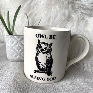 """Royal Stafford England """"Owl Be Seeing You"""" Mug"""